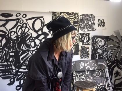 Pondering in my Sydney studio